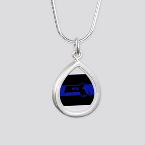 Thin Blue Line - Massachusetts Necklaces