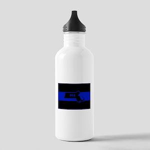 Thin Blue Line - Massa Stainless Water Bottle 1.0L