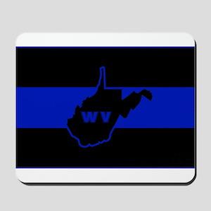 Thin Blue Line - West Virginia Mousepad