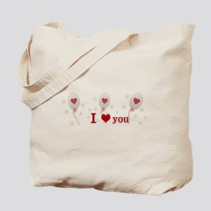 Red Balloon Celebration Tote Bag
