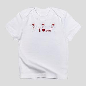 Red Balloon Celebration Infant T-Shirt