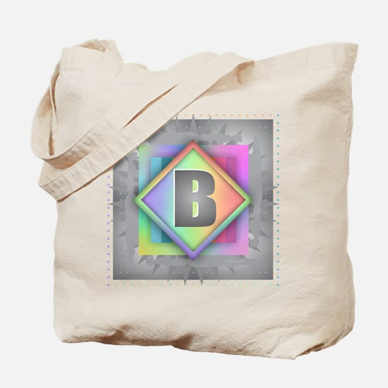 Rainbow Splash B Tote Bag