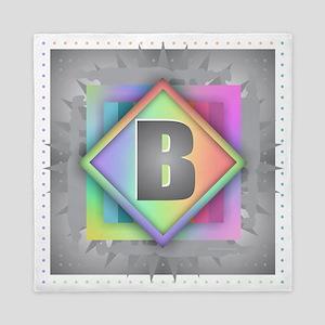 Rainbow Splash B Queen Duvet