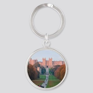 WINDSOR CASTLE Round Keychain