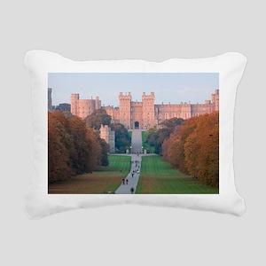 WINDSOR CASTLE Rectangular Canvas Pillow