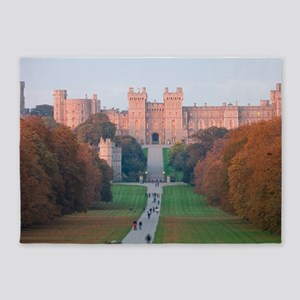 WINDSOR CASTLE 5'x7'Area Rug