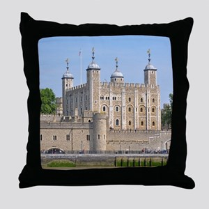 TOWER OF LONDON 2 Throw Pillow