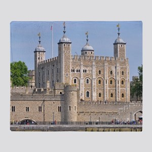 TOWER OF LONDON 2 Throw Blanket