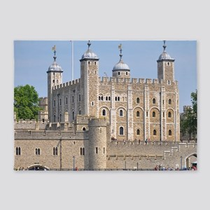 TOWER OF LONDON 2 5'x7'Area Rug