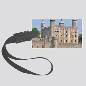 TOWER OF LONDON 2 Large Luggage Tag