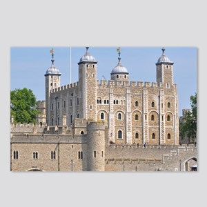 TOWER OF LONDON 2 Postcards (Package of 8)