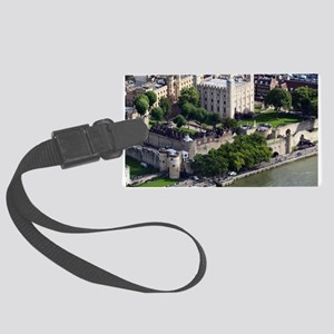 TOWER OF LONDON 1 Large Luggage Tag