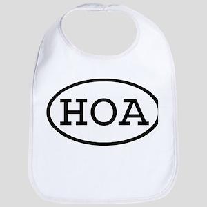 HOA Oval Bib