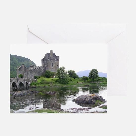SCOTLAND EILEAN DONAN Greeting Card
