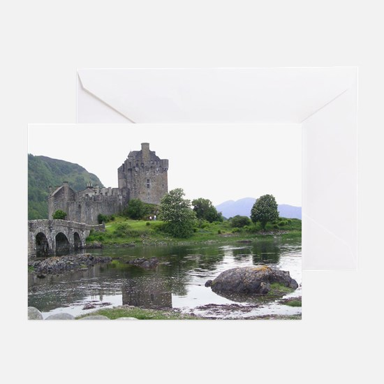SCOTLAND EILEAN DONAN Greeting Cards (Pk of 20)