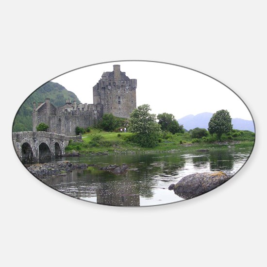 SCOTLAND EILEAN DONAN Sticker (Oval)