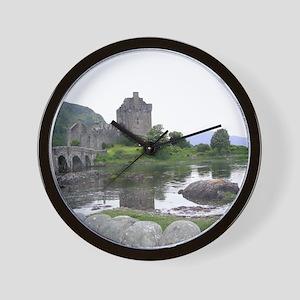 SCOTLAND EILEAN DONAN Wall Clock