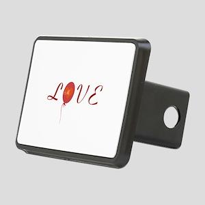 Cute Love Rectangular Hitch Cover