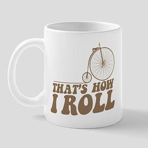 How I Roll PF Mug