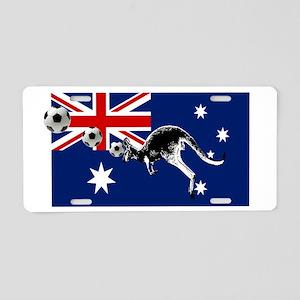Australian Football Flag Aluminum License Plate