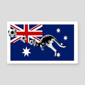 Australian Football Flag Rectangle Car Magnet