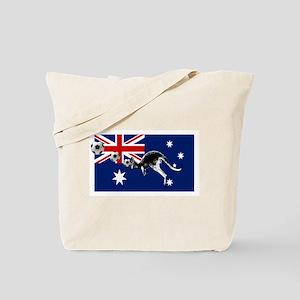 Australian Football Flag Tote Bag