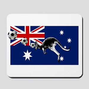 Australian Football Flag Mousepad