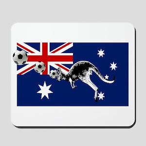 Australian Football Flag Mousepad
