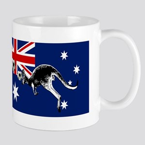 Australian Football Flag Mug