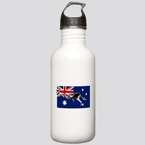 Australian Football Flag Stainless Water Bottle 1.