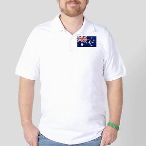 Australian Football Flag Golf Shirt