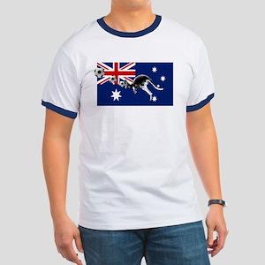Australian Football Flag Ringer T