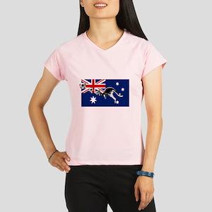 Australian Football Flag Performance Dry T-Shirt