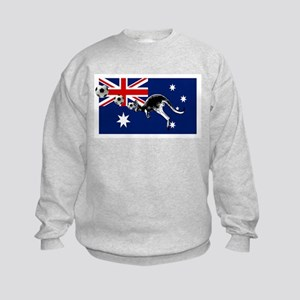 Australian Football Flag Kids Sweatshirt