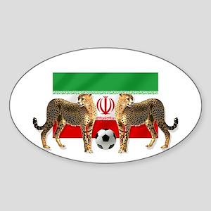 Iran Cheetahs Sticker (Oval)