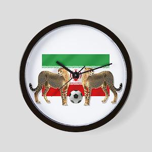 Iran Cheetahs Wall Clock
