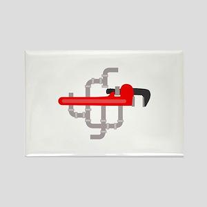 PLUMBING LOGO Magnets