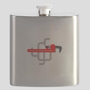 PLUMBING LOGO Flask