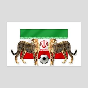 Iran Cheetahs 35x21 Wall Decal