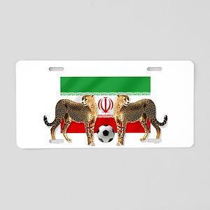 Iran Cheetahs Aluminum License Plate