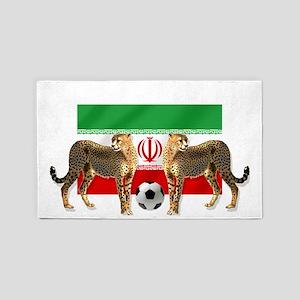 Iran Cheetahs Area Rug