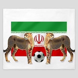 Iran Cheetahs King Duvet