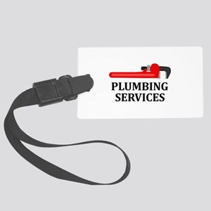 Plumbing Services Luggage Tag