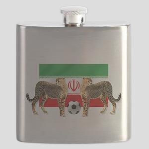 Iran Cheetahs Flask