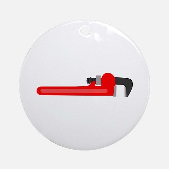 WRENCH Round Ornament