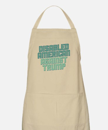 Disabled American Against Trump Apron