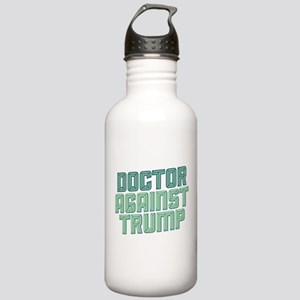 Doctor Against Trump Water Bottle