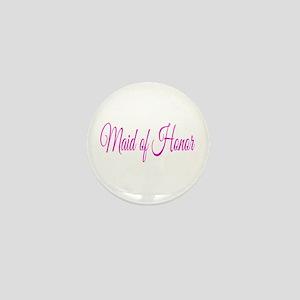 Maid of Honor Mini Button