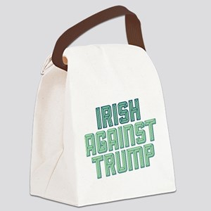 Irish Against Trump Canvas Lunch Bag