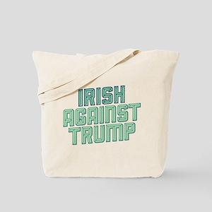 Irish Against Trump Tote Bag